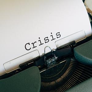 Symbolbild Krise