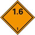 Gefahrzettel Klasse 1.6