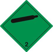 Gefahrzettel Klasse 2.2