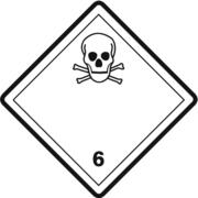 Gefahrzettel Klasse 6.1