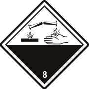 Gefahrzettel Klasse 8