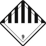 Gefahrzettel Klasse 9