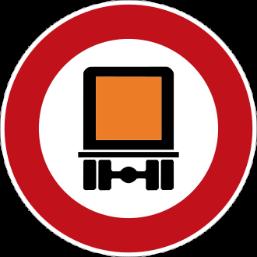Piktogramm für das Passierverbot