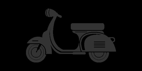 Mofa, Moped, Roller bis 175 ccm