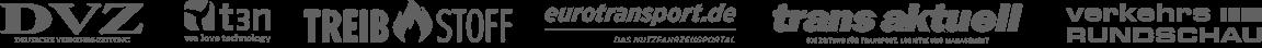Die DVZ, t3n, das Treibstoff Magazin, Eurotransport.de , Transaktuell und die Verkehrsrundschau haben über uns berichtet.