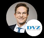 Sebastian Reimann, Chefredakteur der DVZ